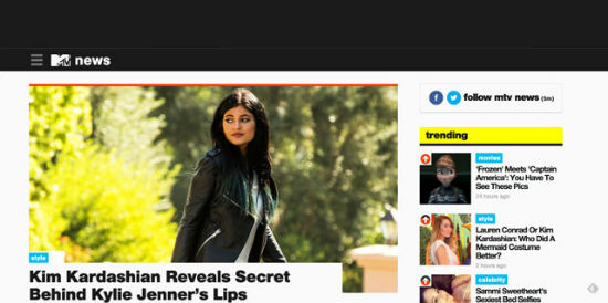 Der offizielle MTV Blog