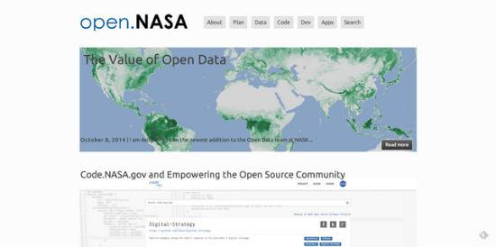 Auch die NASA wählte WordPress
