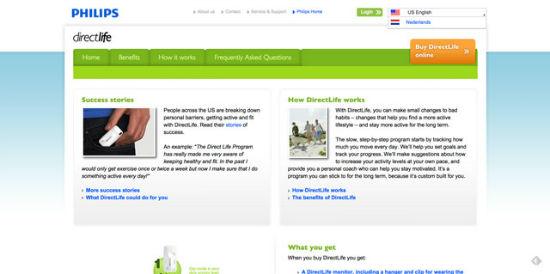 Der PHILIPS DirectLife Blog.