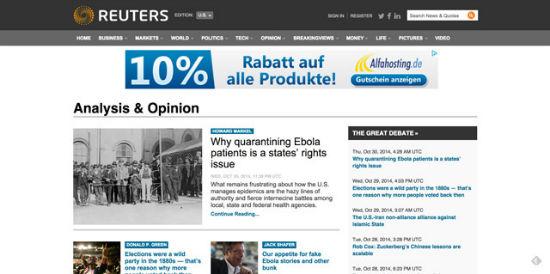 Der Nachrichten-Gigant Reuters