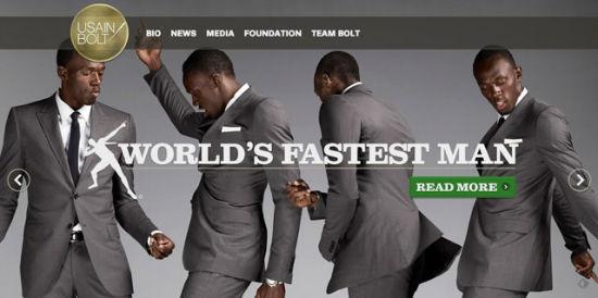Auch der schnellste Mann der Welt setzt auf WordPress