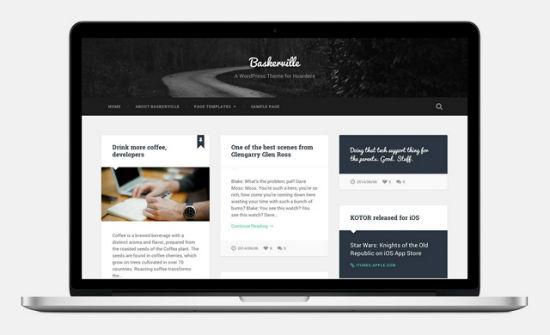 Das Baskerville WordPress Theme