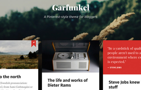 Garfunkel wordpress themes