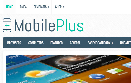 Mobileplus wordpress theme
