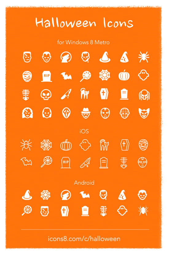 Halloween Icons: Overview