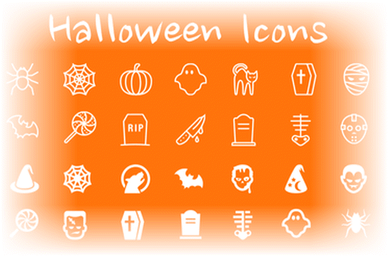 Halloween Icons: 50+ Brand-new Scary, yet Free Pictograms