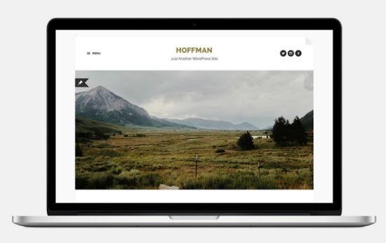 Das Hoffman WordPress Theme