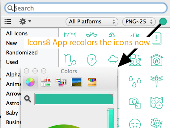 icons8 App: Constantly Improving