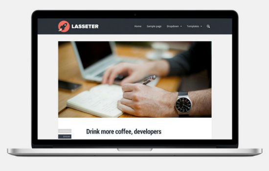 Lasseter Theme for WordPress.