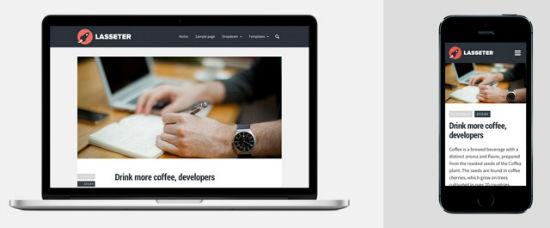 Lasseter Theme for WordPress
