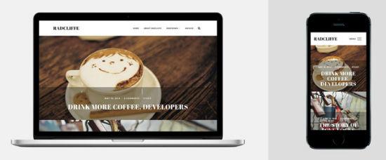 Radcliffe theme for WordPress