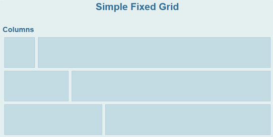 simple-fixed-grid