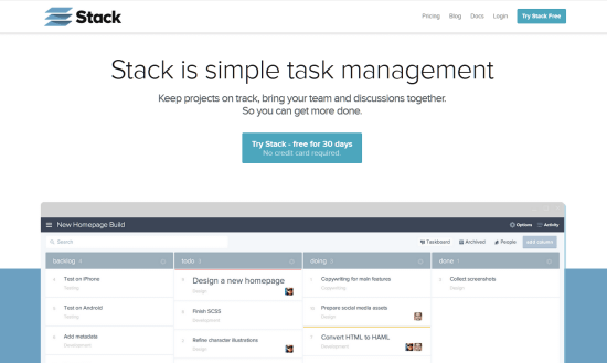 Stack: New Kanban Boards Task- and Projectmanager by Bugherd