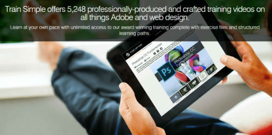 Lifelong Learning: Certified Online Tutorials by Adobe Experts Train Simple for a One-time Payment of 79 Dollars