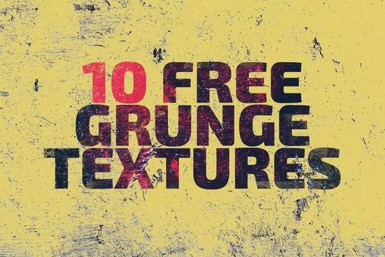 10 grunge textures