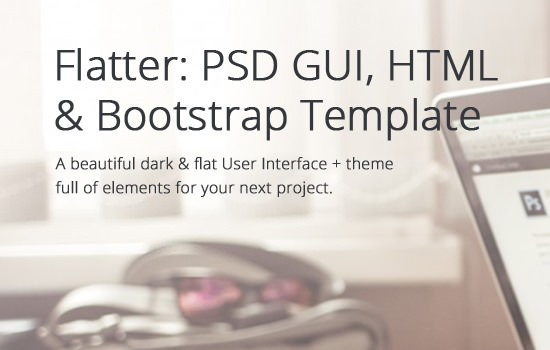 flatter-html-bootstrap-and-psd-template