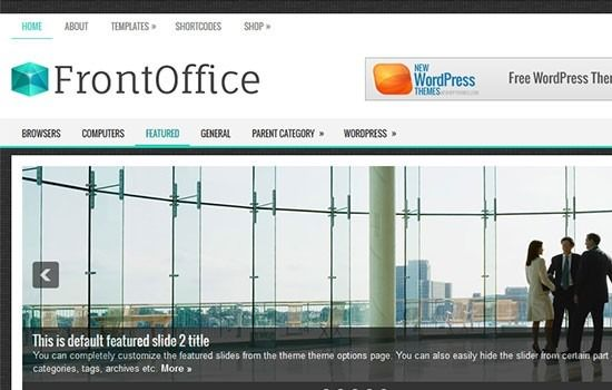 frontoffice-free-wordpress-theme