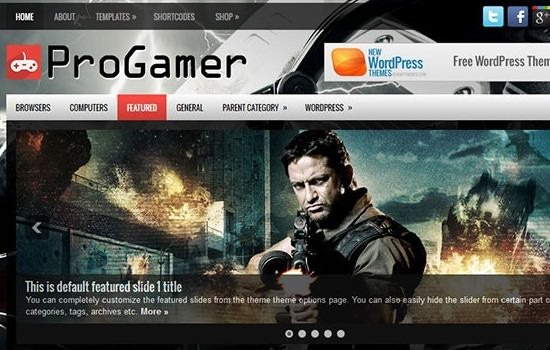 progamer-free-wordpress-theme