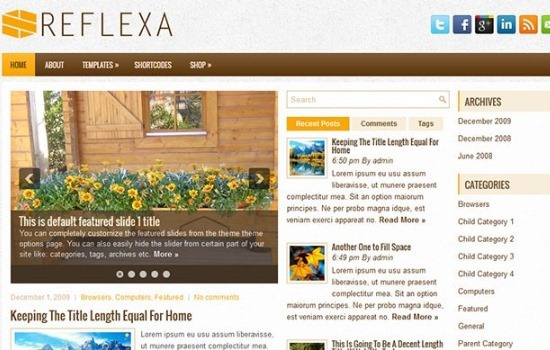 reflexa-free-wordpress-theme
