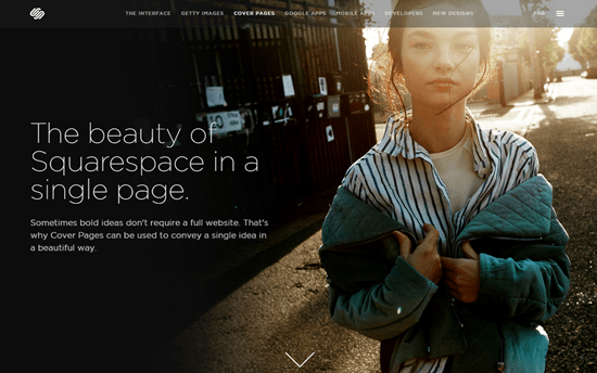 Homepage Builder Squarespace 7: The Revolution Will Be Televised