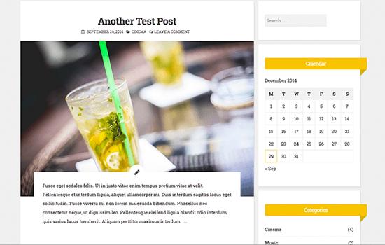 Blogghiamo Theme