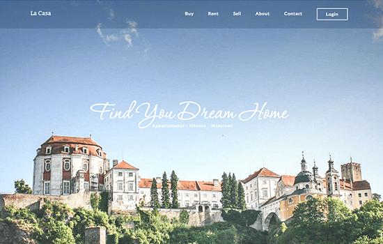 La Casa: Beautiful Real Estate Template