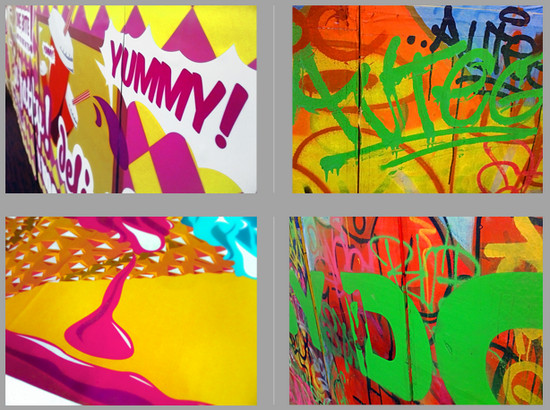 radiant graffiti