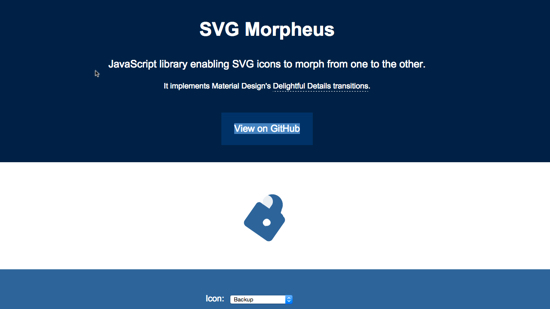 With and Without JS: SVG Loader and SVG Morpheus Beautify Your (Web