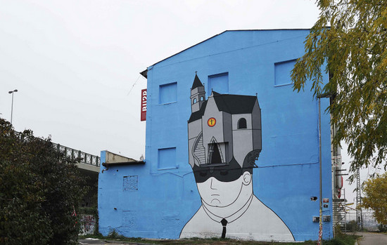 urban art in Prague
