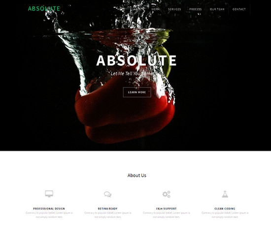 absolute-free theme