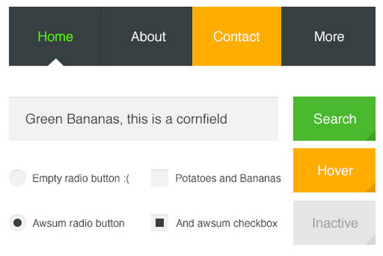 banana ui