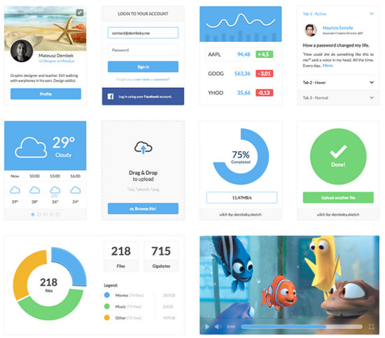 Blast from the Past #1:  90 Best Free User Interface Kits of 2014