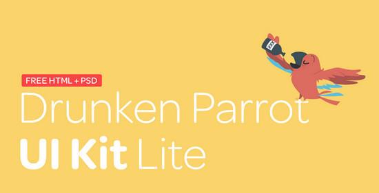 parrot ui kit