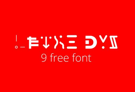 dys font