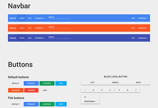 google-material-design-bootstrap