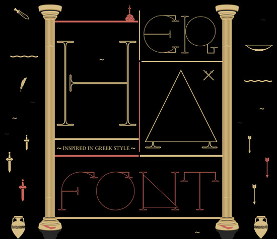 greek typeface