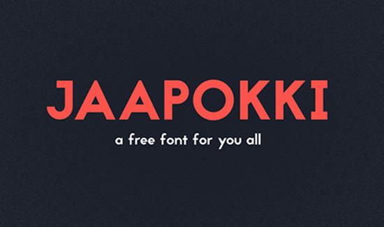 jaapoki font