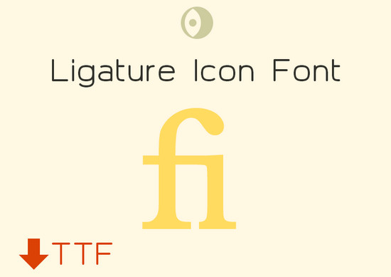 ligature font