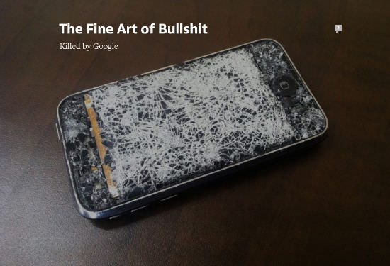 Image: How Google killed the Bullshit