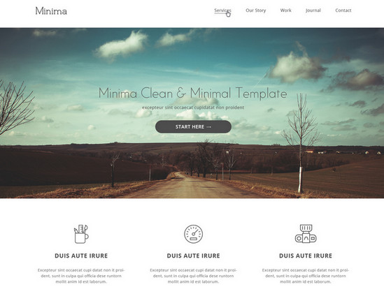 100 best free html css themes of 2014 noupe