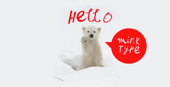mink typeface
