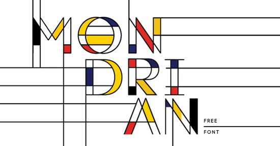 modrian typeface