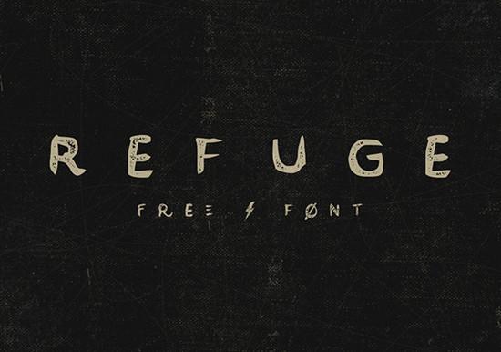 refuge font