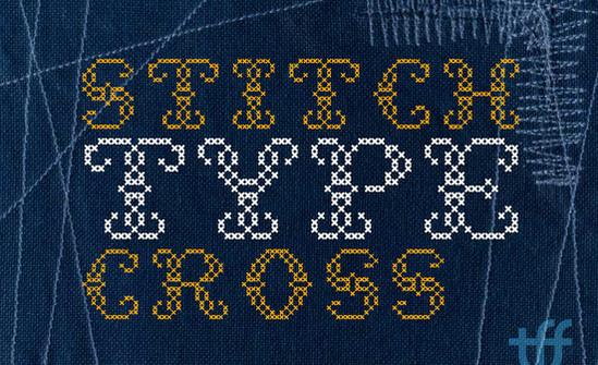 stitch typeface