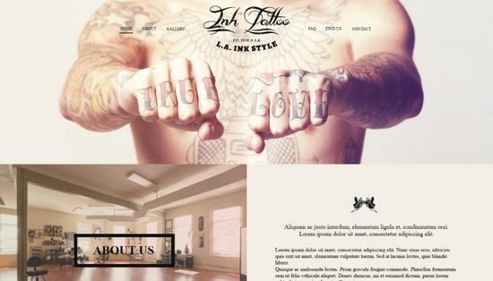 tattoo salon layout