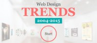 Tracing Web Design Trends From 2004 to 2015: This New Interactive Infographic Web Site is All You Need