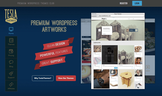Exclusive Giveaway: WordPress Premium Themes by TeslaThemes