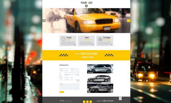theme for taxi agency