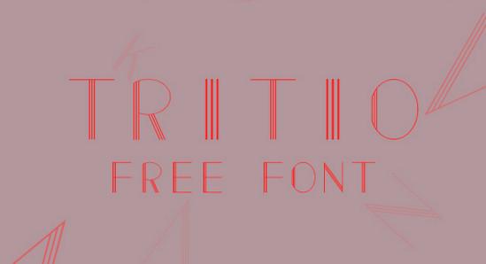 tritio font