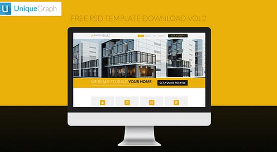 yellow template